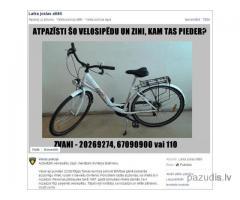 """Atrasts velosipēds """"Kenzel CORSO"""""""