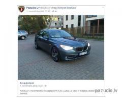 nozagts BMW 535i