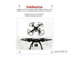 Valdlaučos ,pazudis drons