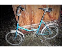 Atrasts Saliekamais velosipēds..