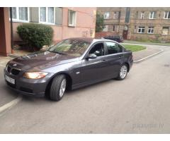 Nozagts pelēks BMW 328i