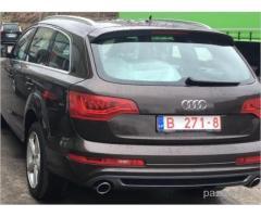 Nozagts Audi Q7 - Veiksmīgi ATRASTS