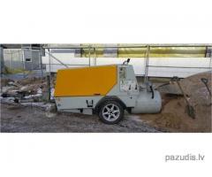Nozagts betona maisitājs Putzmeistar - Veiksmīgi ATRASTS