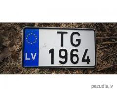 Atrada auto Nr TG-1964