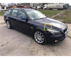 Nozagts BMW 525d tumši zilā krāsā