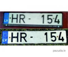 Atrada auto Nr HR-154