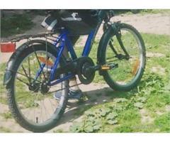 Nozagts bērnu velosipēds