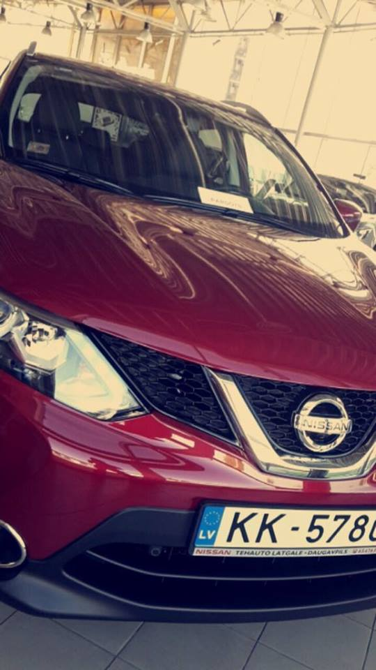 Nozagts auto Nissan Qashqai