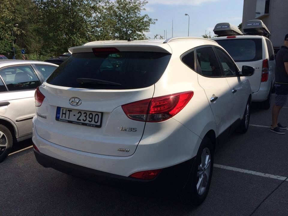 Nozagts auto Hyundai ix35