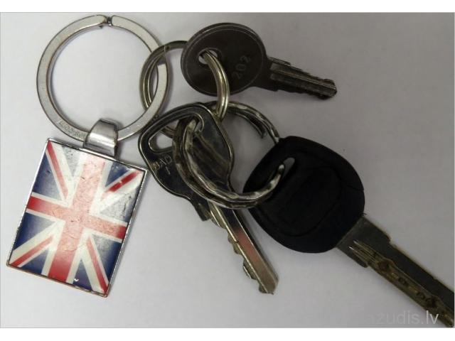 Atrastas atslēgas