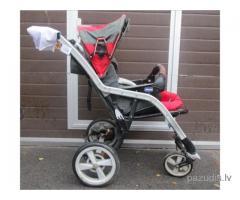 Atrasti mazuļa ratiņi