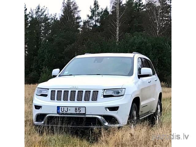 Nozagta automašīna Jeep Grand Cherokee