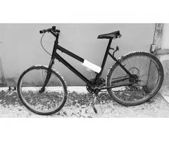 Atrasts velosipēds.