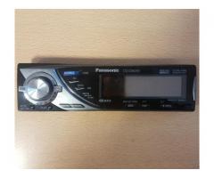 Atrasts auto audio panelis