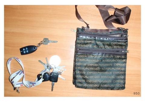 Atrastas atslēgas - somiņa