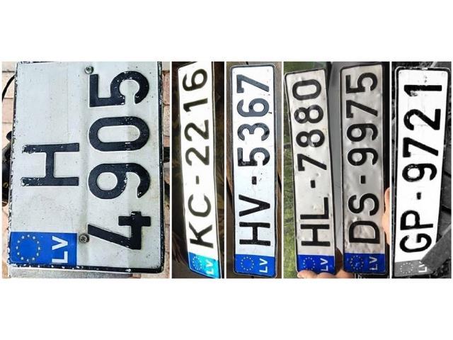 Atrasti auto transporta numuri