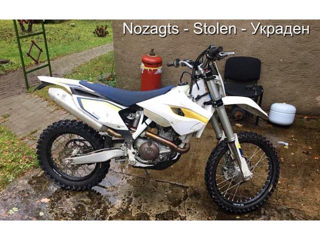 Nozagts motocikls