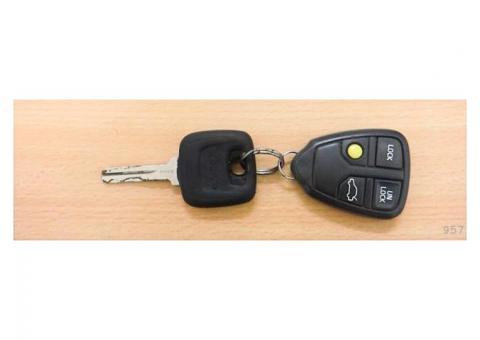 Atrastas auto atslēgas volvo
