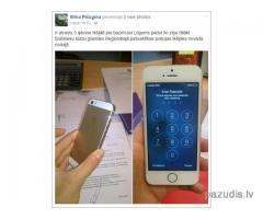 Atrasts 5 iphone Ikšķilē