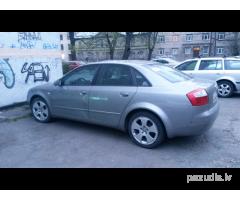 Nozagts Audi A4 , Rīgā, Vīlipa iela, Botāniskais Dārzs